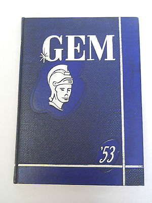 GEM, 1953 Taylor University College Yearbook, Upland, Indiana
