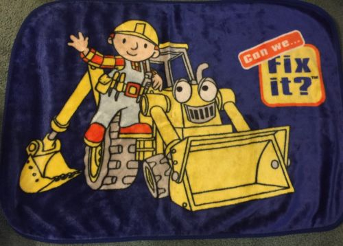 Bob The Builder Plush 40x30 Blanket