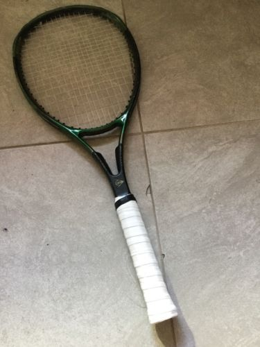 Dunlop MAX SUPERLONG +1.00 Grip 4 3/8 Tennis Racquet Good