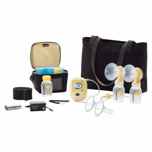 NEW Medela-Freestyle-Double-Electric-Hands-Free-Mobile-Breastpump-Deluxe-Set