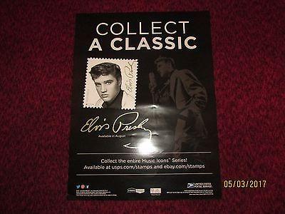 Elvis Presley poster from USPS