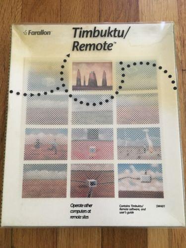 Timbuktu Remote Control Software - 3.5