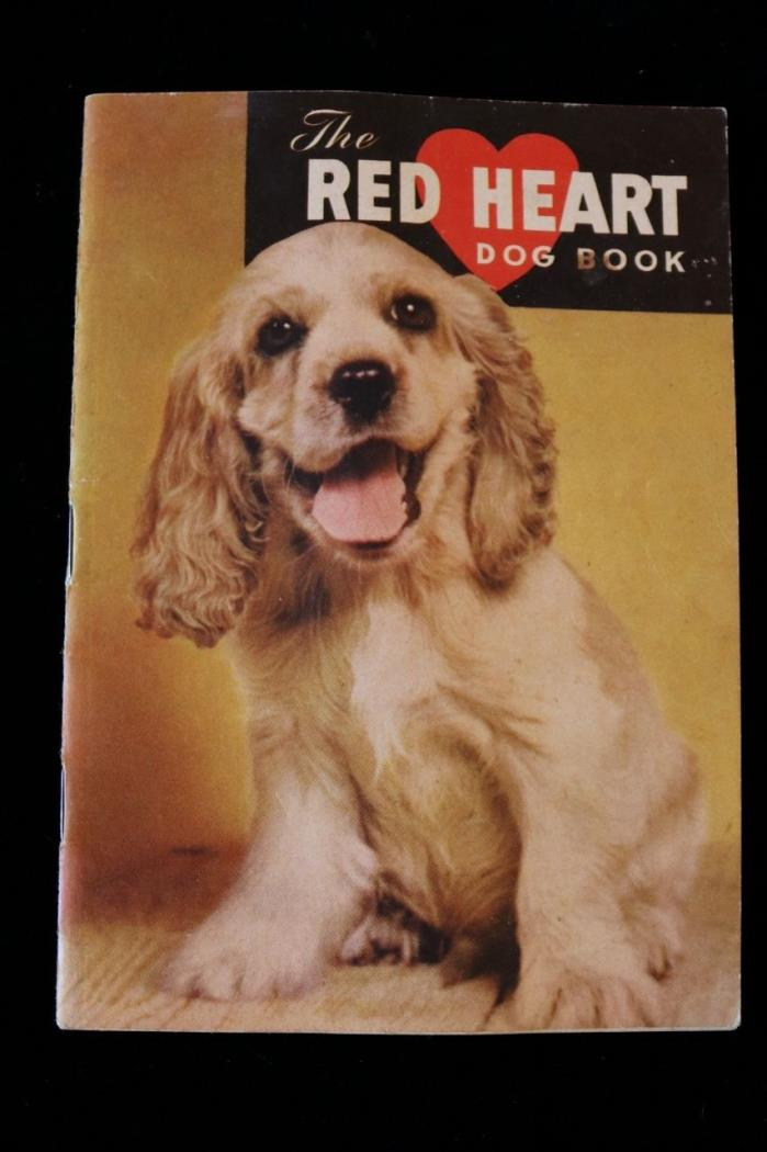 Red Heart Dog Food Training Your Dog Booklet with Lassie inside the covers