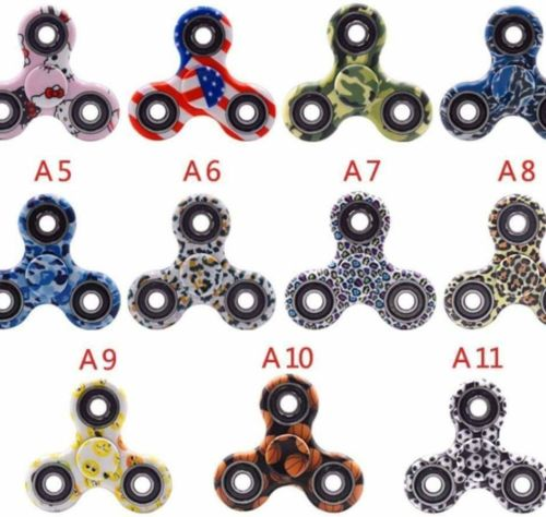 Fidget spinner toy autism fun 10 count lot