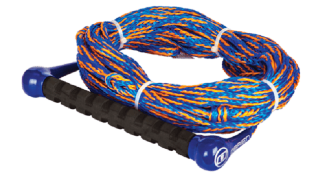 New O'Brien 1-Section Orange / Blue Waterski Rope - Part 2174528
