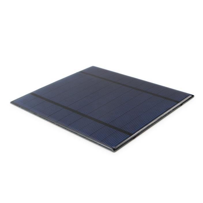 ALLPOWERS 2 Pieces 2.5W 5V/500mAh Solar Panel DIY Battery Charger Kit Mini Encap