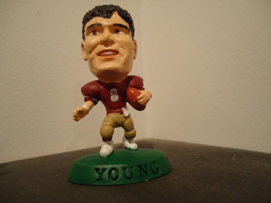 1996 CORINTHIAN HEADLINERS NFL STEVE YOUNG FIGURINE WITH NO BOX