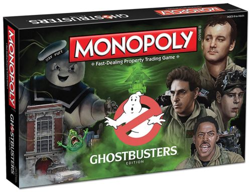 Monopoly: Ghostbusters Collector's Edition board game
