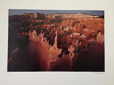 DeWitt Jones Photo Signed And Numbered AP 1/5 Canyon Country National Geographic