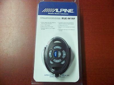 NEW ALPINE RUE-M1RF MARINE REMOTE CONTROL FOR RF SYSTEM WATER WEATHER PROOF NR