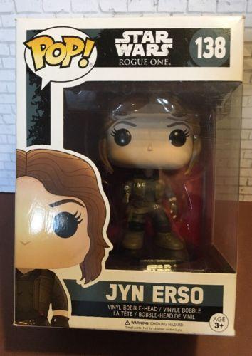 Star Wars Funko Pop Jyn Erso Bobble Figure #138 Rogue One