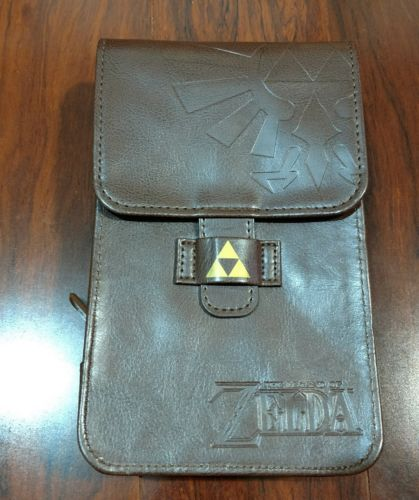 The Legend of Zelda Nintendo 3DS Adventurer's Pouch Faux Leather Carrying Case