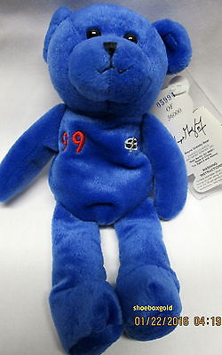 Wayne GRETZKY, New York Rangers NHL Collectible Bear, Famous Legends and Sports