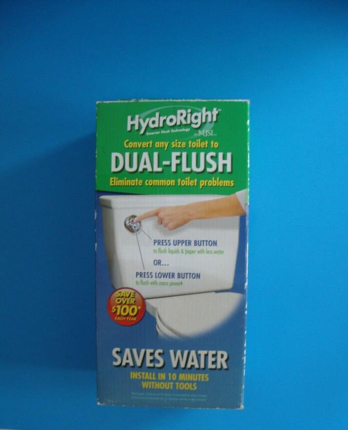 New Danco HYR270 HydroRight Dual Flush Converter, White