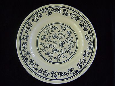 Homer Jaughle 10 inch Plate, Blue and White