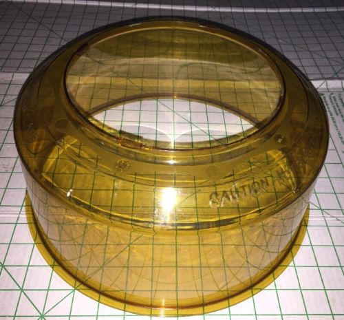Amber Shatter Proof Dome Replacement Part NuWave Pro Plus Infrared Oven
