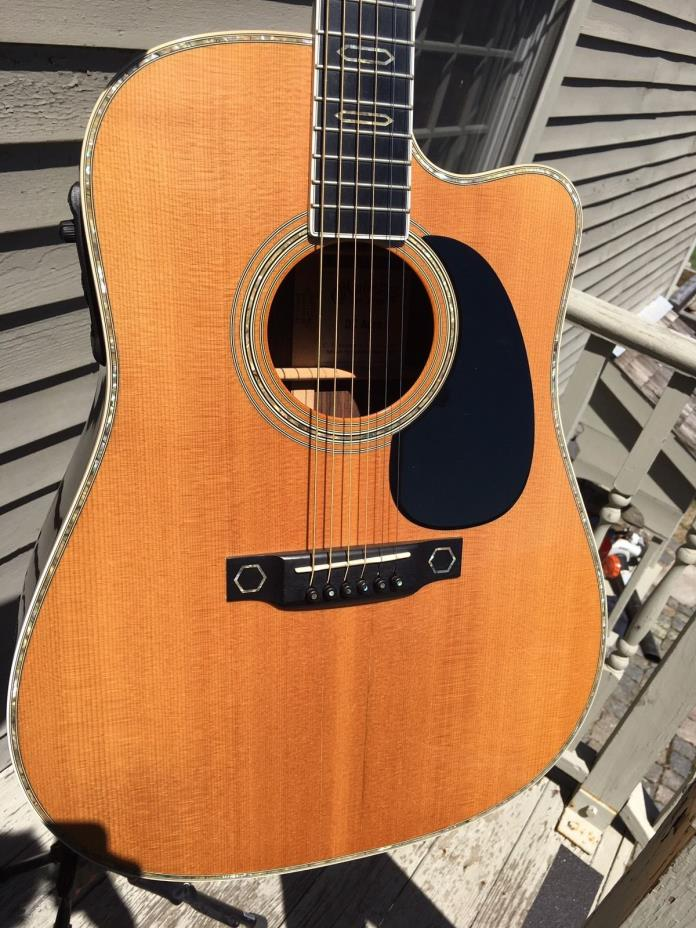 2007 Martin DC Aura D45 Inspired Custom Shop W SKB Flight Case