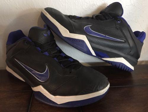 Nike Zoom Kobe Venomenon II Basketball Black/Concord-White 487787-001 SIZE 9