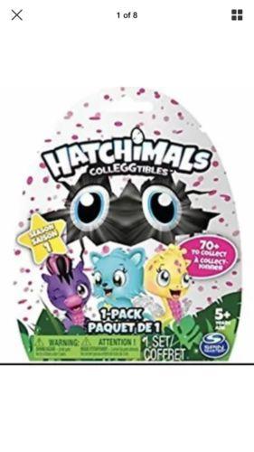 Brand New Rare Hatchimals Colleggtibles Season 1 Blind Bag Surprise Bag