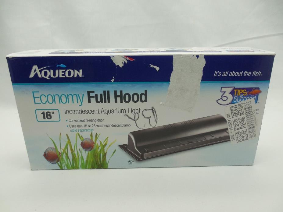Economy Aquarium Incandescent Hood size 16