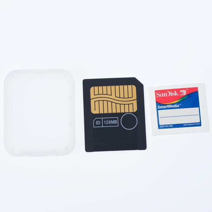 SanDisk SmartMedia 128MB Memory Card SDSM-128 - Used