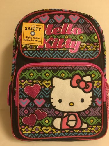 New With Tag Hello Kitty Large Backpack 15