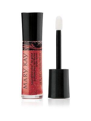 Mary Kay Nourishine Plus Lip Gloss 0.15oz Red Passion