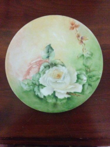 Vintage D & C France Porcelain Plate 8.25