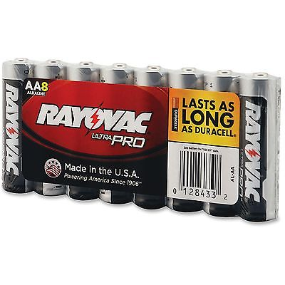 Rayovac Corporation Industrial Plus Batteries, Alkaline, AA, 1.5V, 12PK/CT
