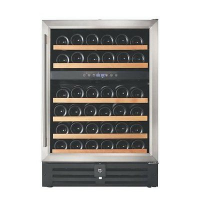 Smith & Hanks 46 Bottle Dual Zone Built-In/Freestanding Wine Refrigerator