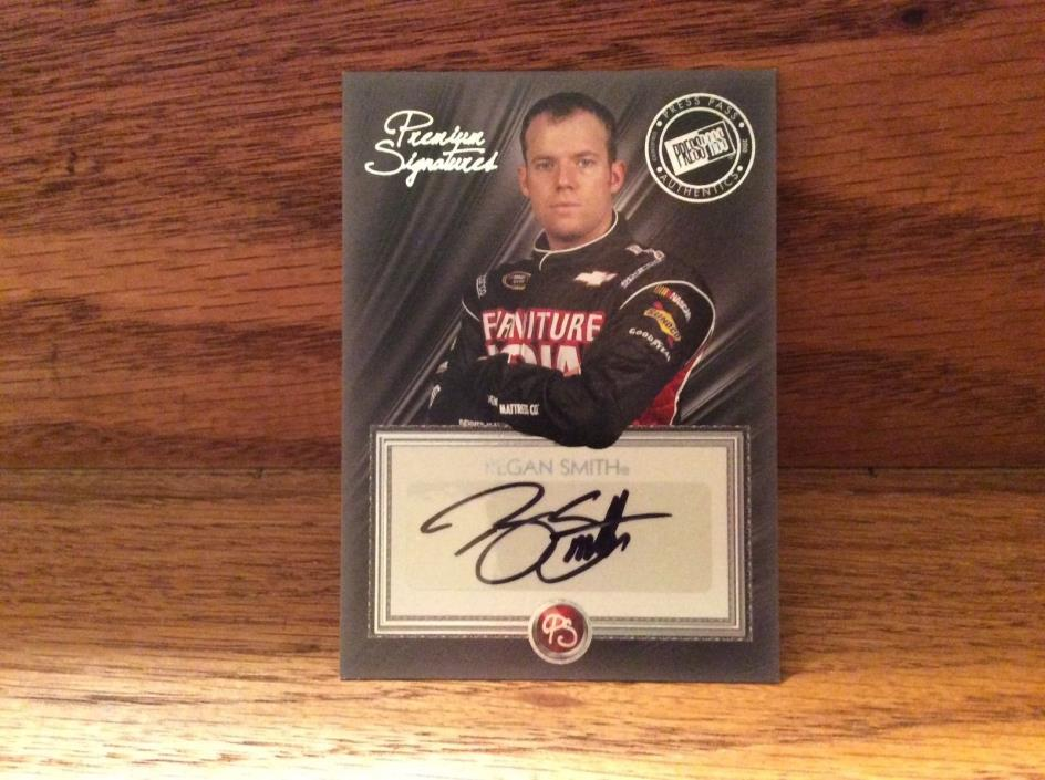 2010 Press Pass Premium Autograph of Regan Smith.