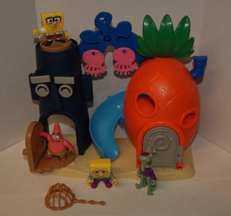 Fisher-Price Imaginext Nickelodeon SpongeBob SquarePants Bikini Bottom set 90%co