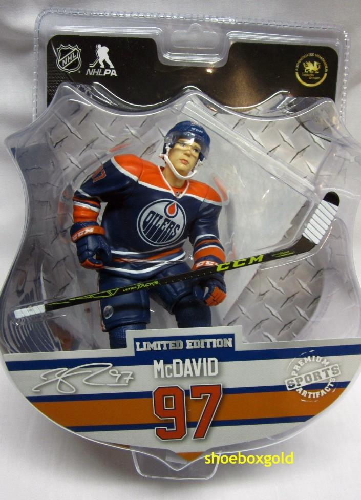Connor McDavid, Edmonton Oilers, 6 Inch NHL Figure (Imports Dragon) - Limited
