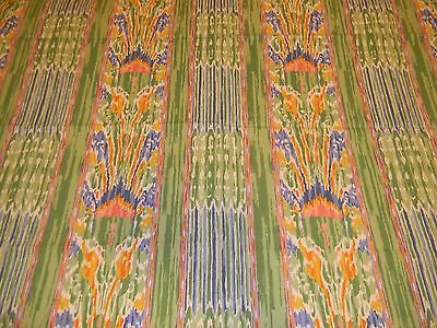 Clarence House Long Staple Egyptian Cotton Ikat design 26 x 53