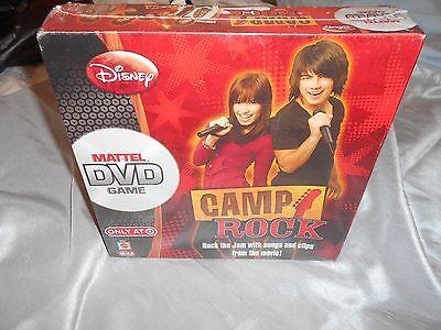 DISNEY CAMP ROCK DVD GAME