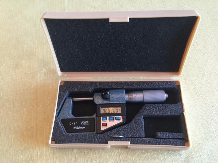 Mitutoyo 293-765-10 MDC-1 Electronic Digital Micrometer