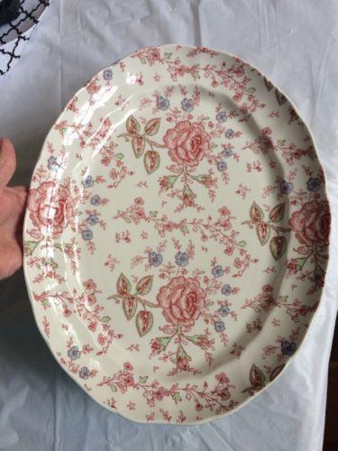 Johnson Bros china Rose Chintz Platter