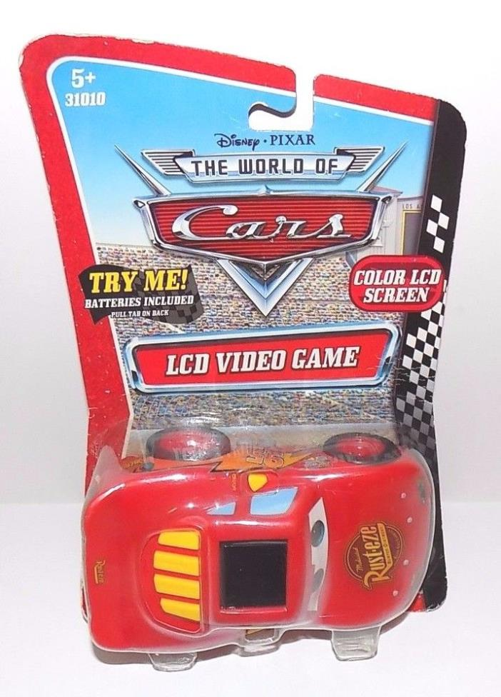 Disney Pixar The World of Cars LCD Handheld Video Game