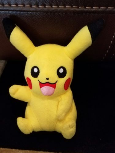 Pikachu Plush Tomy Plushie Pokemon Nintendo Stuffed Animal