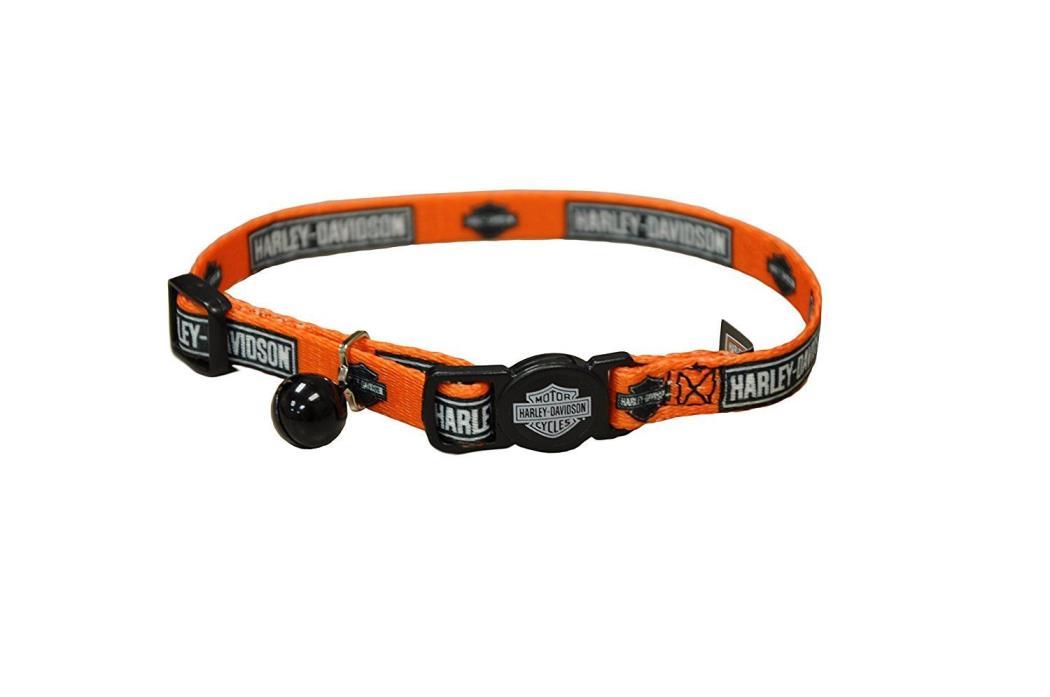 NO TAGS!!! Harley Davidson Adjustable Safe Cat Collar 8