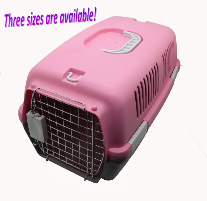 Pet Carrier Dog Kennel Cat Carrier Travel Tote Dog Cage Cat Flight Carrier Cage