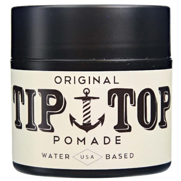 TIP TOP Original Water Based Pomade 4.25oz , Medium Shine / Great Hold