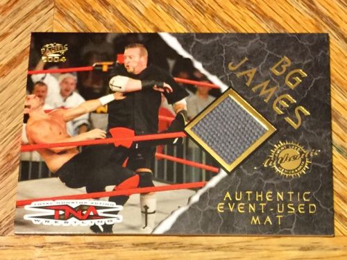 Pacific TNA Wrestling 2004 Authentic Event Used Mat BG James Road Dogg WWE Card