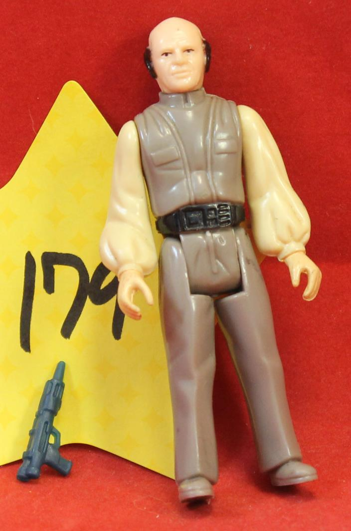 Star Wars Vintage Lobot with Weapon 1980 LFL Hong Kong #179 1980 Kenner