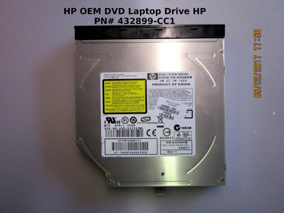 HP OEM DVD Laptop Drive HP PN# 432899-CC1 LightScribe