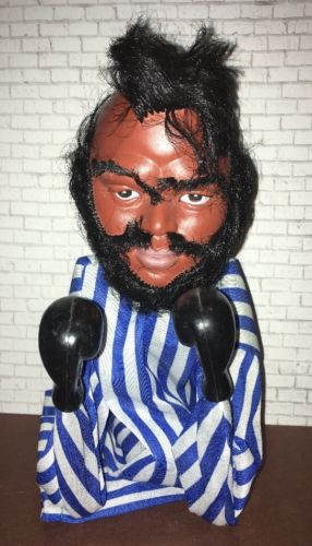 Vintage MR T Punching Puppet Rocky A-Team 1980s