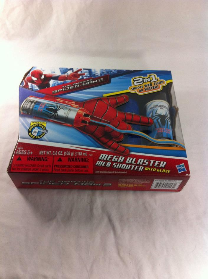 Brand new Spider-man 2 Mega blaster web shooter