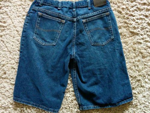 Boys Lee Denim Shorts 18 Husky 18H  Adjustable Waist