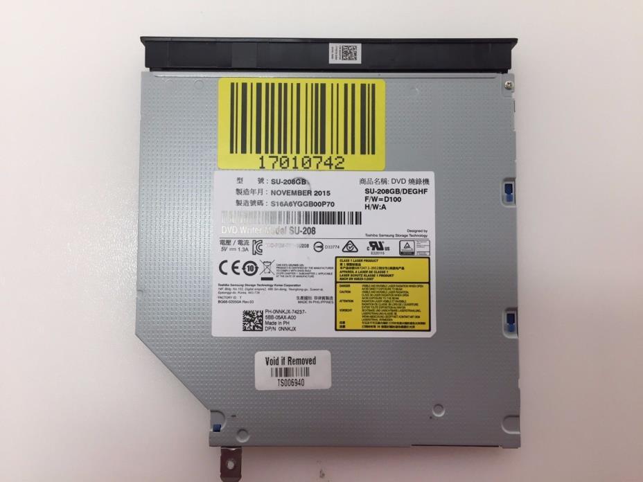 OEM DELL INSPIRON 15-5559 15 5000 SERIES DVD ODD OPTICAL DRIVE SU-208GB 0NNKJX