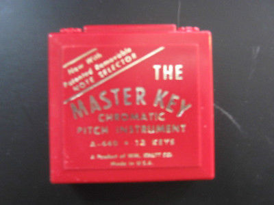 THE MASTER KEY CHROMATIC PITCH INSTRUMENT